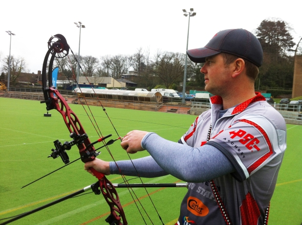 PSE's Chris White and his Dominator
