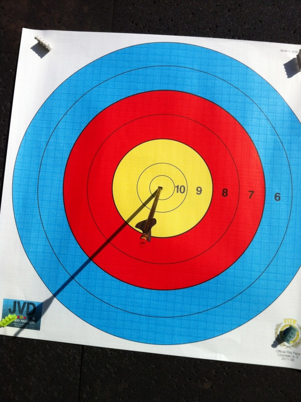 PSE Chris White's 1 arrow shoot off
