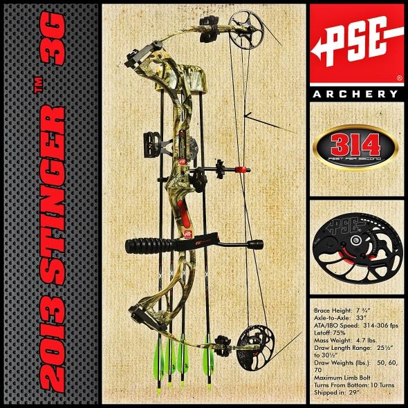 2013 PSE Stinger 3G