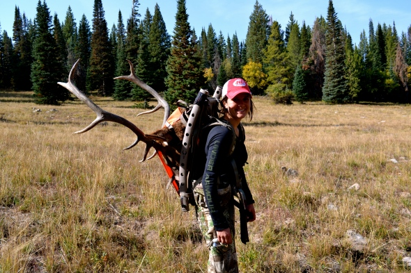 Emily Anderson - Carrying the Weight of an Elk