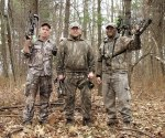 My dad, my brother and I during the fall 2009 NY whitetail archery season