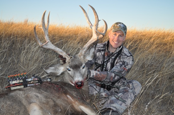 Tactics combined took down this old buck!