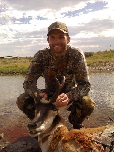 My first antelope.